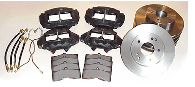 65-82 Delco SS Lined Premium Brake Kit