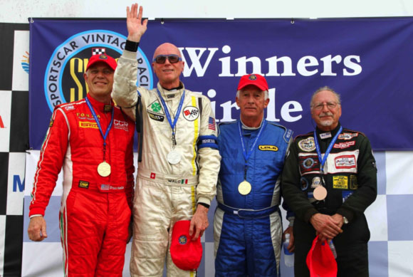 Walo Podium Finish - Sebring