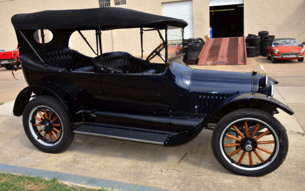 1925 Buick restoration project