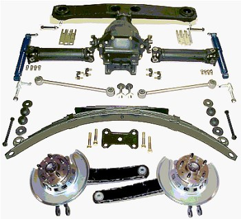 1965-82 Corvette master rear overhaul kit
