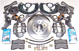 M080 1963-64 Corvette front disk brake conversion kit