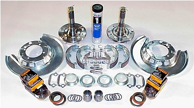 1965-82 Corvette rear spindle overhaul kit